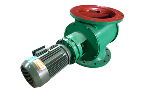 叶轮給料機又叫星形卸灰阀、星型卸料器、回转下料器;由阀体、传动轴、叶片、减速器等组成;减速电机带动传动轴和叶轮旋转,从而达到卸灰的目的。