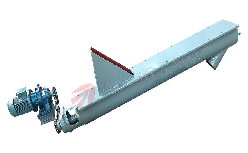 絞龍輸送機輸送角度最大為多少?