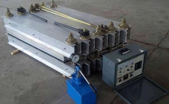 皮帶機熱硫化機接頭