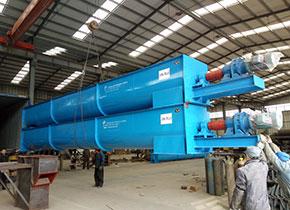 2016年ydb100.com亿鼎博出口到越南的螺旋输送机,总共4条,处理物料为:木屑;采用的是U型螺旋输送机,电机直连式,目前已经运行2年多了,输送稳定。