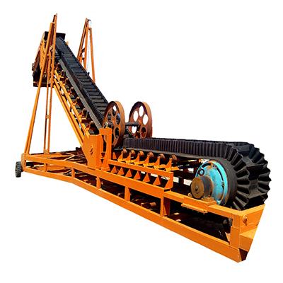 大倾角皮带输送机产品先容_皮带输送机厂家