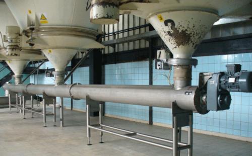 单管螺旋给料机操作方式