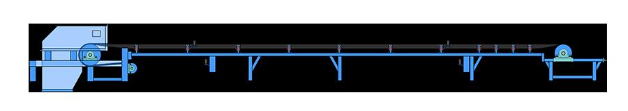 皮带输送机工作原理
